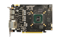 The Asus GTX 960 Strix, sans shroud, revealing the PCB in all its glory.