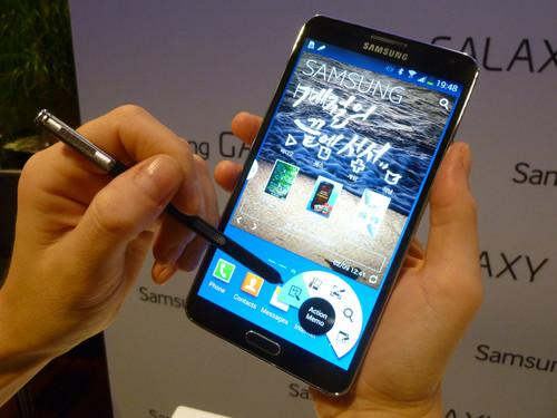Hands on Samsung's Galaxy Note 3