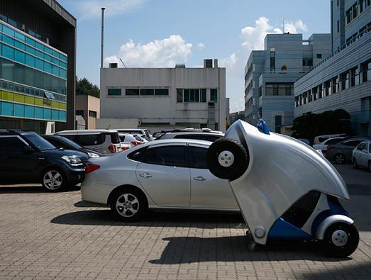 In Pictures: Armadillo-T. Now that's a compact car