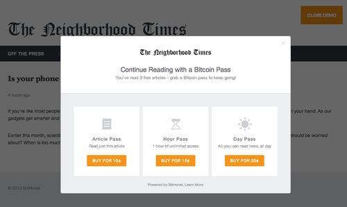 News junkie's open-source project links Bitcoin with publishers