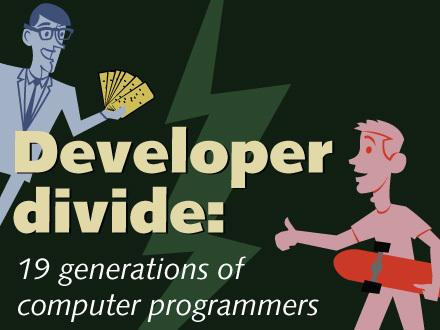 In Pictures: Developer divide, 19 generations of computer programmers