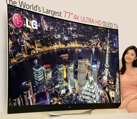 LG's curved 4K OLED TVs coming to CES