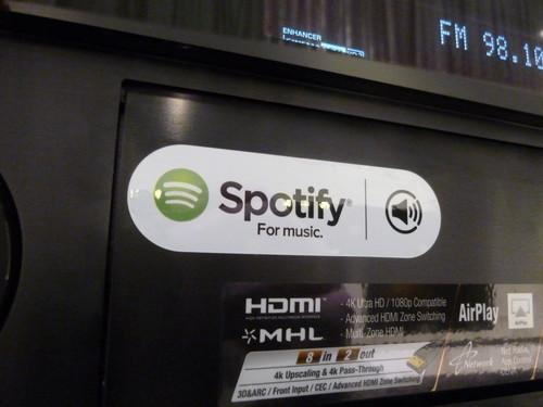 Hands on with Yamaha's Spotify Connect AV receivers