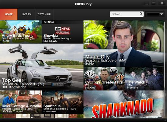 In pictures: Foxtel Play