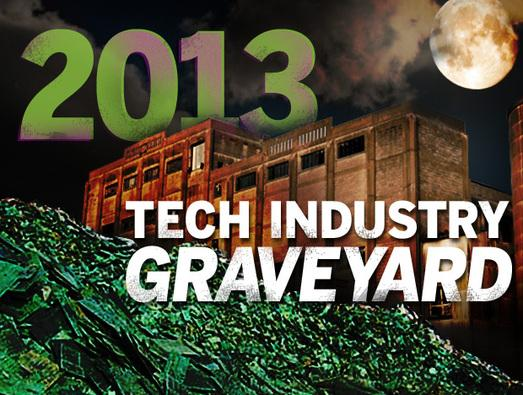 In Pictures: 2013 tech industry graveyard