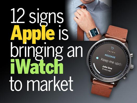 In Pictures: 12 signs Apple is bringing an iWatch to market