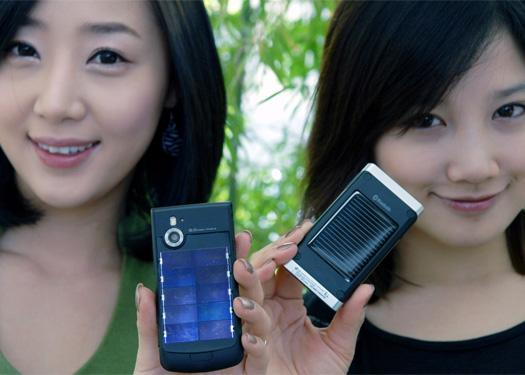 LG, Samsung develop solar-powered mobile phones