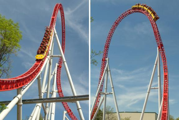 Top high-tech rollercoasters
