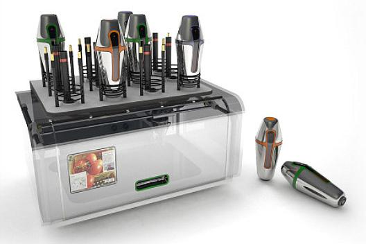 Four ultra-futuristic printers and scanners