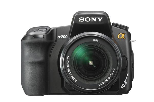 Watch your back Canon; Sony fleshes out its SLR line-up with the A350 and A200