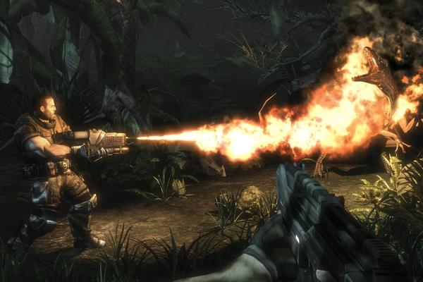 Turok - an epic and futuristic, first-person shooter