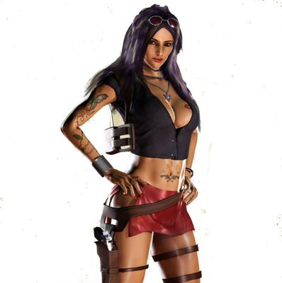 Video game characters that are supposed to be sexy... but aren't