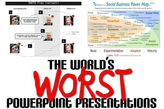 The world's worst PowerPoint presentations