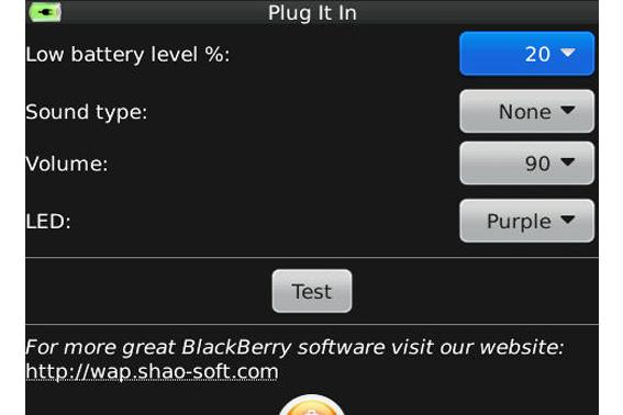 Free BlackBerry apps: Nine Torch 9800 compatible downloads