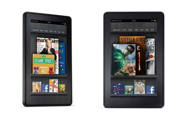 Amazon Kindle Fire tablet vs. competition: Spec showdown