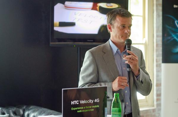 In pictures: the HTC Velocity 4G launch