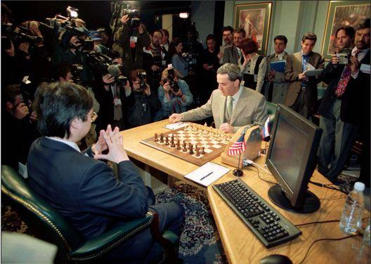 In Pictures: Ultimate Man vs. Computer - Garry Kasparov, Deep Blue and the Internet