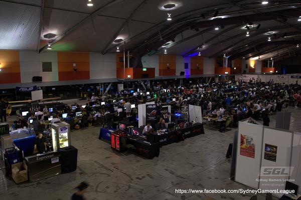 IN PICTURES: Sydney Gamers League provides a festival atmosphere for gamers and game developers