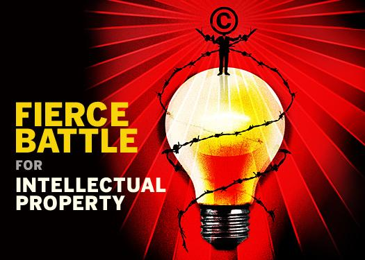 In Pictures: The fierce battle for intellectual property