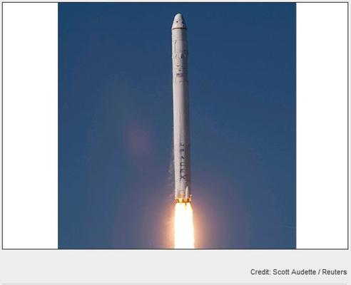 In Pictures: The SpaceX blast into history