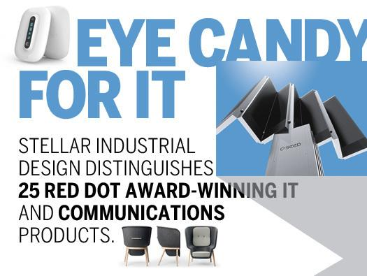 In Pictures: Eye candy for IT - 25 award-winning designs