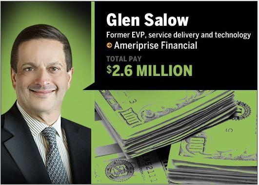 In Pictures: CIO payday - who took home the big money