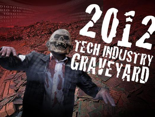 In Pictures: 2012 Tech industry graveyard