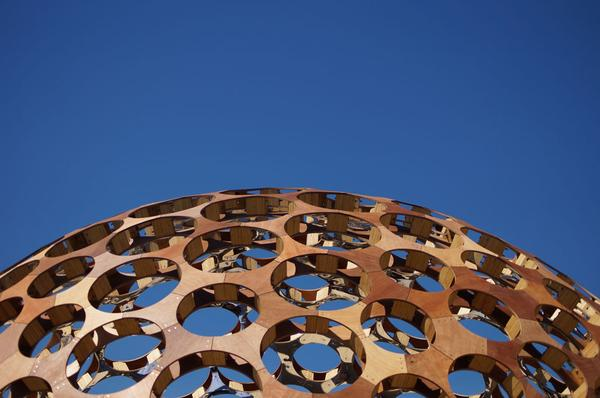 Photographing Sculpture by the Sea with the Sony Alpha A57 camera
