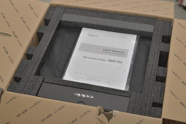 In pictures: unboxing the Oppo BDP-103