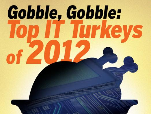 In Pictures: Gobble, gobble: Top IT Turkeys of 2012