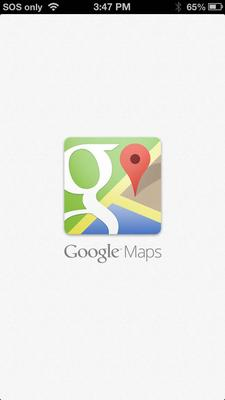 In pictures: Google Maps for iOS
