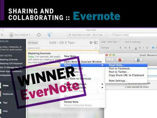 In Pictures: Evernote Touch vs. Microsoft OneNote