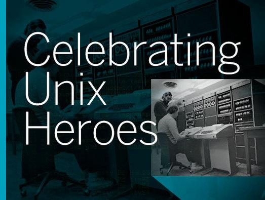 In Pictures: Celebrating Unix heroes