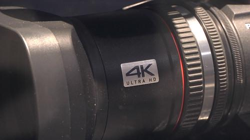 Panasonic's prototype 4K camcorder on show at IFA 2013