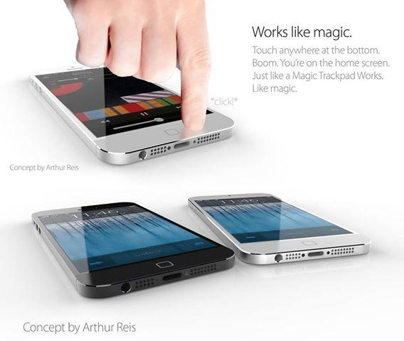 Apple iPhone 6 concept. (Image credit: Arthur Reis)