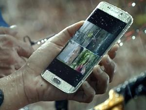 Galaxy S7 Edge's water-resistant feature.