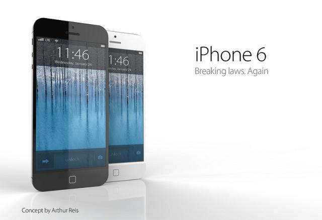 An iPhone 6 concept design. (Image credit: Arthur Reis)