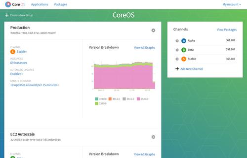 CoreOS' CoreUpdate allows administrators to manage their implementations