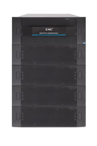 EMC Data Domain mid-tier storage system, a DD7200 and a set of 4 ES30s