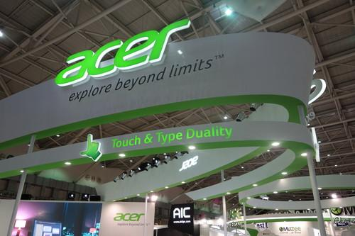 Acer's booth at Computex
