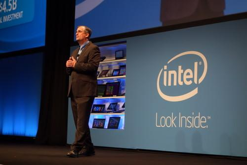 Intel's CEO Brian Krzanich speak at IDF in Shenzhen.