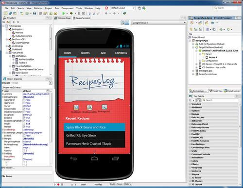 Embarcadero has updated its RAD Studio and Delphi Studio with the ability to create mobile apps