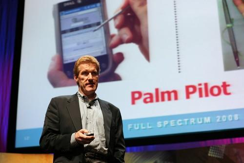 Comedian Don McMillan gets tech-savvy audiences laughing at corporate events.