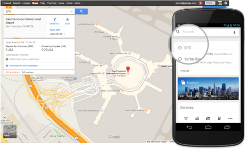 Google Maps now lets users search for restaurant, flight and hotel reservations.