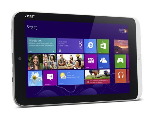 The Acer Iconia W3, the world's first 8-inch Windows tablet, unveiled at Computex