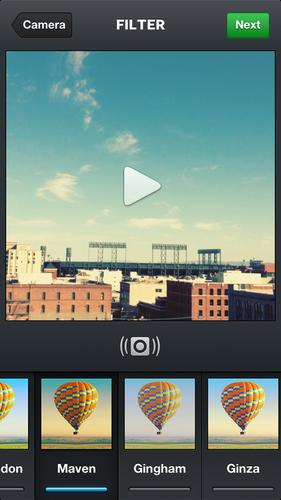 Instagram's new video function lets users record and share up to 15 seconds of video.