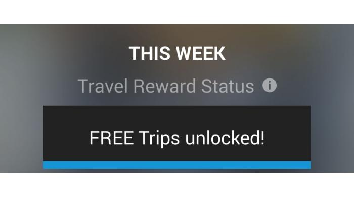 OpalApp is a third-party smartphone app that can tell you how many journeys you've taken and will let you know when you've unlocked free trips after your eighth journey.