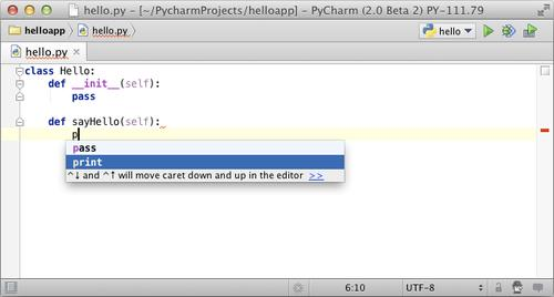 JetBrains is offering an open source version of its PyCharm Python IDE