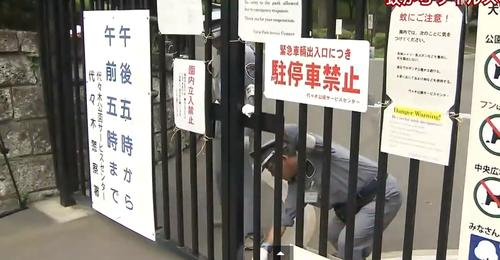 Officials close part of Tokyo's Yoyogi Park amid an outbreak of dengue fever, which has renewed attention in smartphone apps that claim to repel bugs with sound.