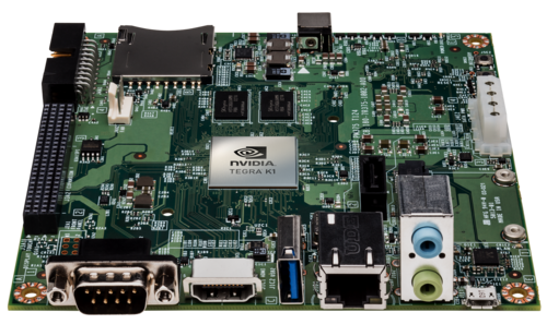 Nvidia's Jetson TK1 development board